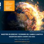 Abierta la inscripción a la Maestría en Derecho y Economía del Cambio Climático de FLACSO Argentina