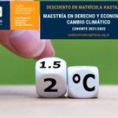 Obtené un 25% de descuento en el pago de la matrícula de la Maestría en Derecho y Economía del Cambio Climático de FLACSO Argentina