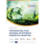 Informe final: propuesta de Plan Nacional de Eficiencia Energética