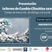 Presentación del Informe de Cambio Climático 2021
